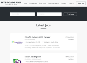 jobs.mybroadband.co.za