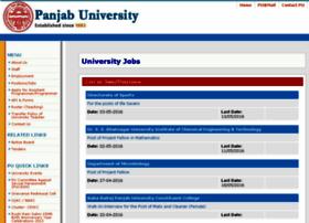 jobs.puchd.ac.in