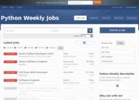 jobs.pythonweekly.com