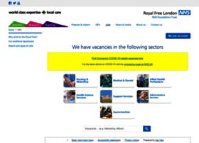 jobs.royalfree.nhs.uk