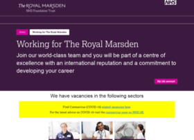 jobs.royalmarsden.nhs.uk