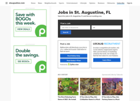 jobs.staugustine.com
