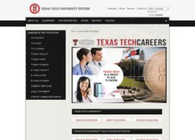 jobs.texastech.edu