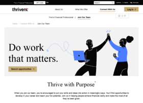 jobs.thrivent.com