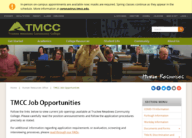 jobs.tmcc.edu