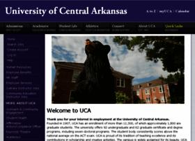 jobs.uca.edu