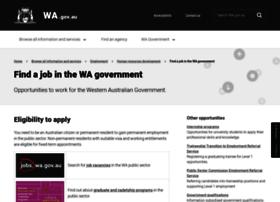jobs.wa.gov.au