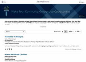 jobs.waketech.edu