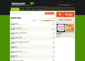 jobs.webdesigndev.com