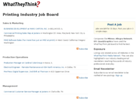 jobs.whattheythink.com