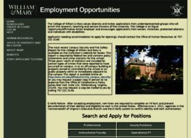 jobs.wm.edu