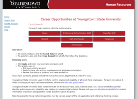 jobs.ysu.edu