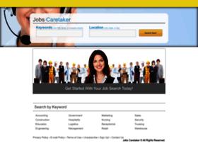 jobscaretaker.com