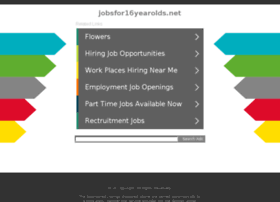 jobsfor16yearolds.net