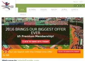 jobsinsports.oyova.com