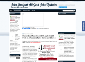 jobsjhatpat.blogspot.in