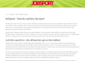 jobsport.fr