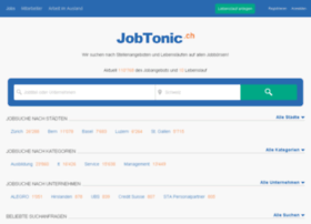 jobtonic.ch