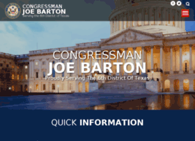 joebarton.house.gov