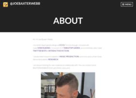 joebaxterwebb.wordpress.com