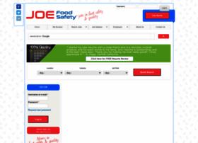 joefoodsafety.com