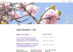 joeloverton.com