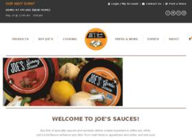 joessauces.com