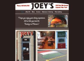 joeysbrickovenpizza.com