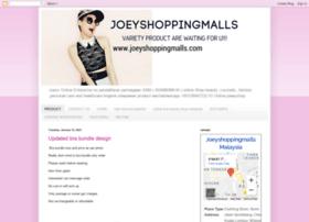 joeyshoppingmalls.blogspot.com