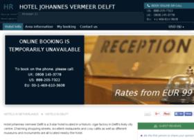 johannesvermeer-delft.hotel-rez.com