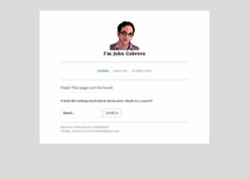 johncabrera.com