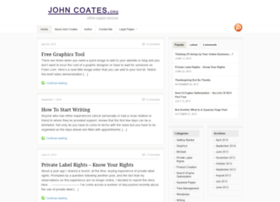 johncoates.org
