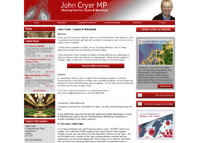johncryermp.co.uk