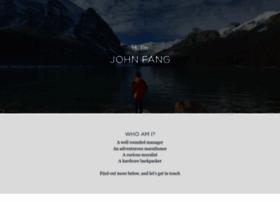 johnfang.strikingly.com