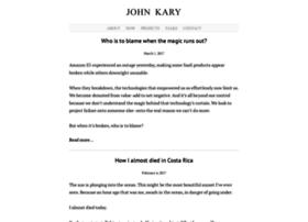johnkary.net