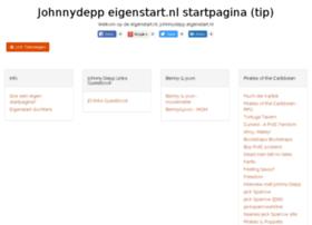 johnnydepp.eigenstart.nl