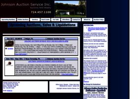 johnsonauctionservice.com