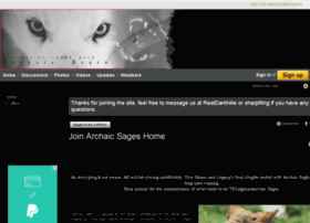 joinarchaicsages.wikifoundry.com