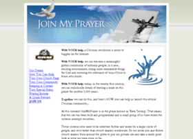 joinmyprayer.net