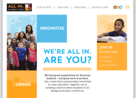 joinsyracusecityschools.com