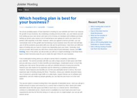joisterhosting.wordpress.com