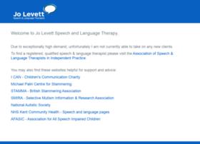 jolevettspeechtherapy.co.uk