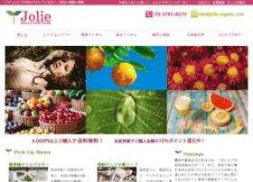 jolie-organic.com