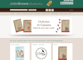 joliesgreencreations.com