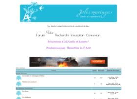 jolismariages.forumactif.net