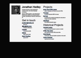 jonathanhedley.com