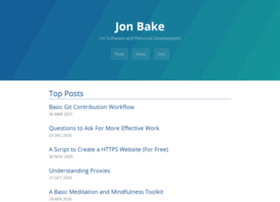 jonbake.com