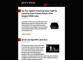 jonsview.com