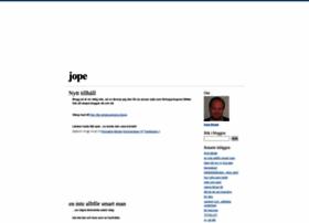 jope.blogg.se