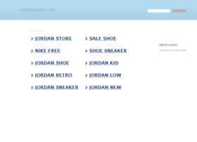 jordanshoestore.com